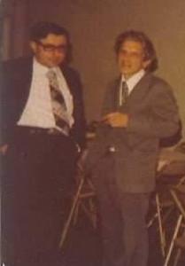 Roberto Murillo y Constantino Láscaris